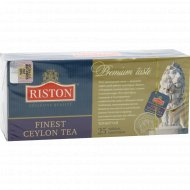 Чай «Riston» цейлонский, файнест, 25 пакетиков.