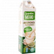 Напиток из растительного сырья «Молоко гречневое» 1%, 1 л.