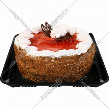 Торт «Клубничный» 1 кг., фасовка 1-1.2 кг