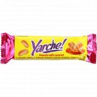 Батончик «Yarche» с жареным арахисом и мягкой карамелью, 50 г.