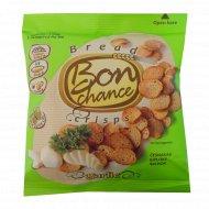 Хлебные чипсы «Bon chance» с чесноком, 60 г.