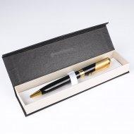 Ручка подарочная «Darvish» черная с золотистой отделкой, 1 шт.