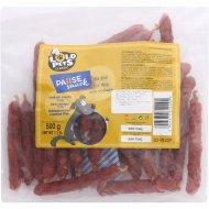 Лакомство для собак «Lolo» утиные колбаски, 500 г.