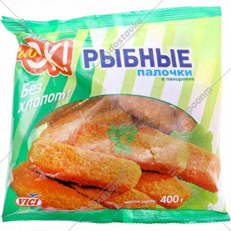 Палочки рыбные «VICI» в панировке 400 г.
