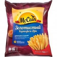 Картофель фри «McCain» золотистый, замороженный, 750 г.