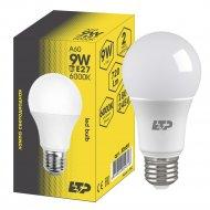 Лампа светодиодная «ETP» A60 9W E27 6000K.