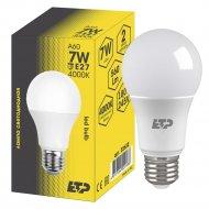 Лампа светодиодная «ETP» A60 7W E27 4000K.