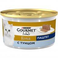 Корм для кошек «Gourmet Gold» паштет с тунцом, 85 г.