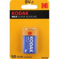 Элемент питания «Kodak» MAX 6LR61-1BL, 1 штука.