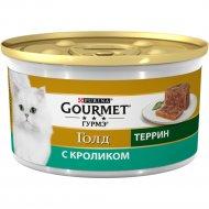 Корм для кошек «Gourmet Gold» с кроликом, 85 г.