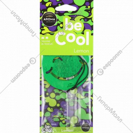 Ароматизатор воздуха для автомобиля «Aroma Car Be Cool» lemon.