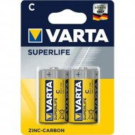 Элемент питания «VARTA» Superlife СR14, солевой, 2 шт.