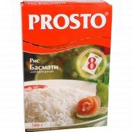 Рис «Prosto» басмати длиннозерный, очищенный, 8х62.5 г.