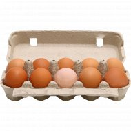 Яйца куриные пищевые цветные, С-0, 10 шт.