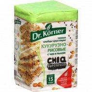 Хлебцы хрустящие «Dr.Korner» с чиа и льном, 100 г.