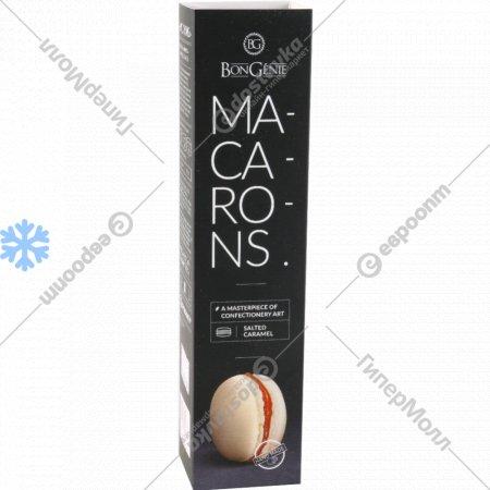 Пирожные «Макарон» с начинкой карамель, 4 шт, 68 г.