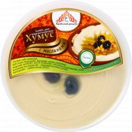 Блюдо восточной кухни «Хумус» с маслинами, 200 г.