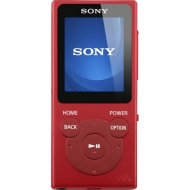 MP3-плеер «Sony» красный NWE394R