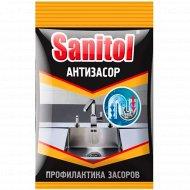 Антизасор «Sanitol» для чистки труб, 90 г.