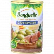 Оливки «Bonduelle» с анчоусом, 300 г.
