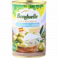 Оливки «Bonduelle» с голубым сыром, 300 г.