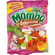 Жевательный мармелад «Mamba» фрукты и йогурт, 140 г.