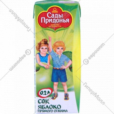 Сок «Сады Придонья» яблочный 200 мл.
