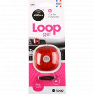 Ароматизатор воздуха «Aroma Car Loop gel» red fruits, 9 г.