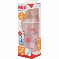 Бутылочка «Nuk First Choice» Plus, с соской из силикона, 300 мл