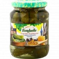 Огурчики по-дижонски «Bonduelle» с медом и семенами горчицы, 720 мл.