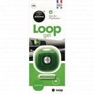 Ароматизатор воздуха для автомобиля «Aroma Car Loop gel» lemon, 9 г.