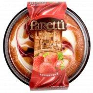 Торт бисквит «Faretti» клубничный 400 г.