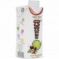 Вода кокосовая «Vietcoco» с соком маракуи, 0.33 л.