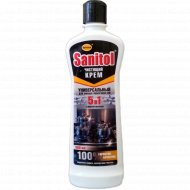 Чистящий крем «Sanitol» с микрогранулами 5 в 1, 500 г.