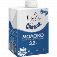 Молоко детское «Снежок» ультрапастеризованное, 3.2%, 0.5 л