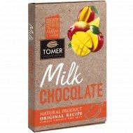 Молочный шоколад «Tomer» c манго, 90 г.
