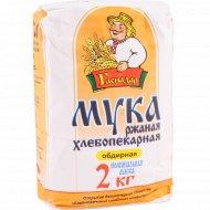 Мука ржаная «Гаспадар» хлебопекарная, обдирная, 2 кг.