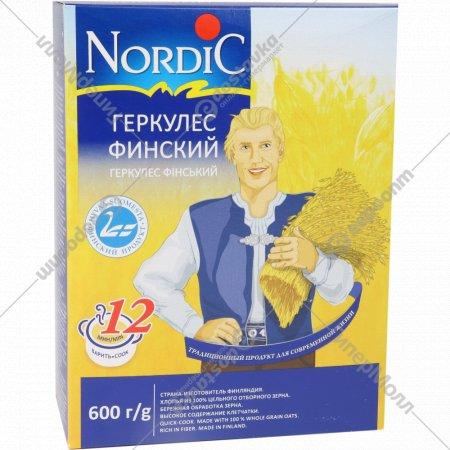 Овсяные хлопья «Nordic» геркулес финский, 600 г.