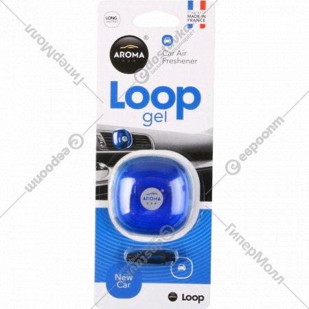 Ароматизатор воздуха для автомобиля «Aroma Car Loop gel» new car, 9 г.