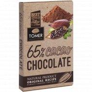 Шоколад «Tomer» горький 65%, 90 г