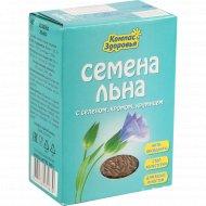 Семена льна «Компас Здоровья» с селеном, хромом, кремнием, 200 г.