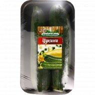 Цукини зеленый в лотке, 1 кг., фасовка 0.8-1 кг