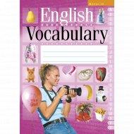 Книга «Английский язык. Тетрадь-словарик».