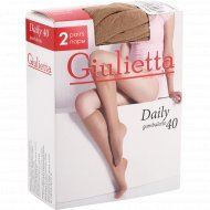 Гольфы женские «Giulietta» Daily, 40 den, 2 пары