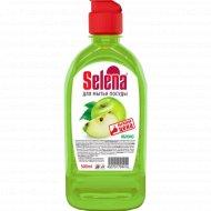 Средство для мытья посуды «Selena» яблоко, 500 мл.