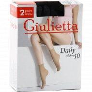 Носки женские «Giulietta» Daily Nero, 40 den
