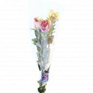 Букет длинных роз 60 см, 3 шт.