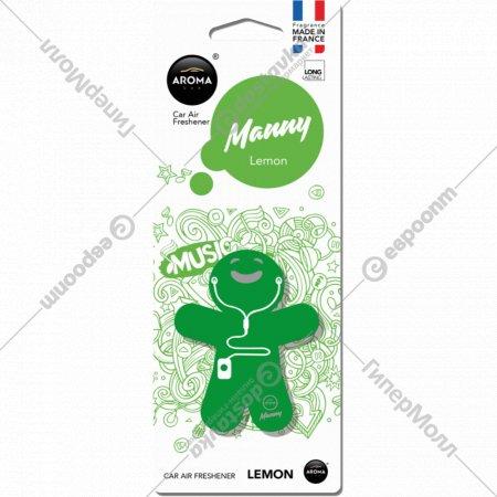 Ароматизатор воздуха «Aroma Car Manny» Lemon.