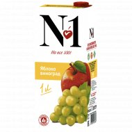 Нектар «№1» яблочно-виноградный, 1 л.