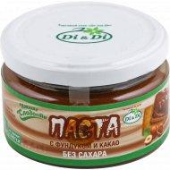 Паста натуральная c фундуком и какао без сахара, 190 г.
